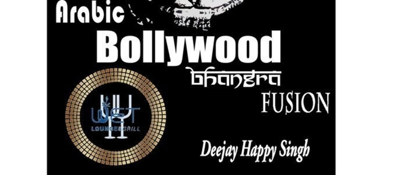 Arabic, bollywood, bhangra old skul fusion with dj Happy