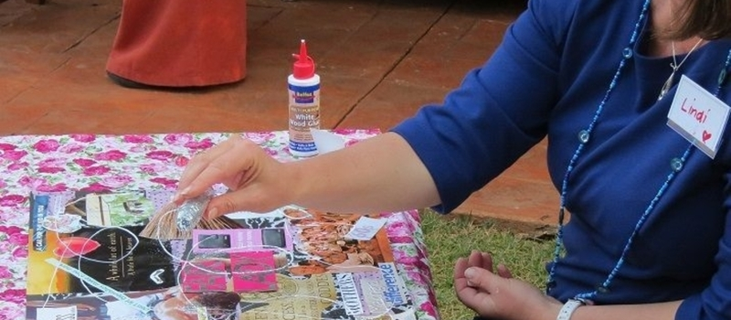 Vision Board Art Therapy Workshop