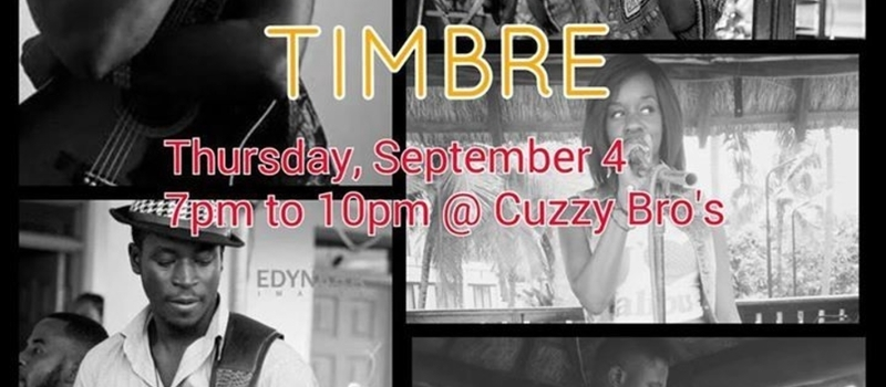 TIMBRE Live Music at Cuzzy Bro's
