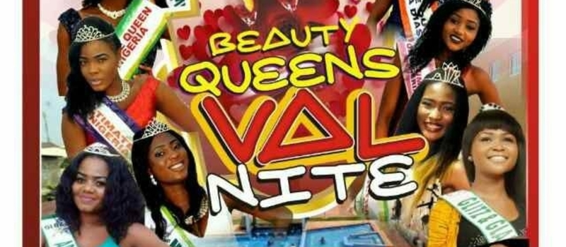 Beauty Queens Val Nite,after Party At Atican Beach Abraham Adesonya
