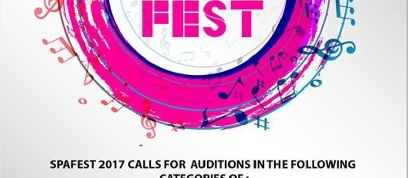 SPA Fest Auditions - Dance , Drama & Music