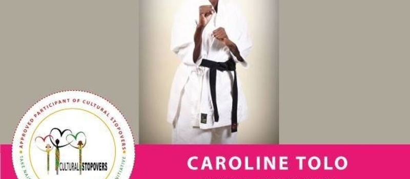 Women in Martial Arts by Caroline Tolo at Kariobangi 2nd March
