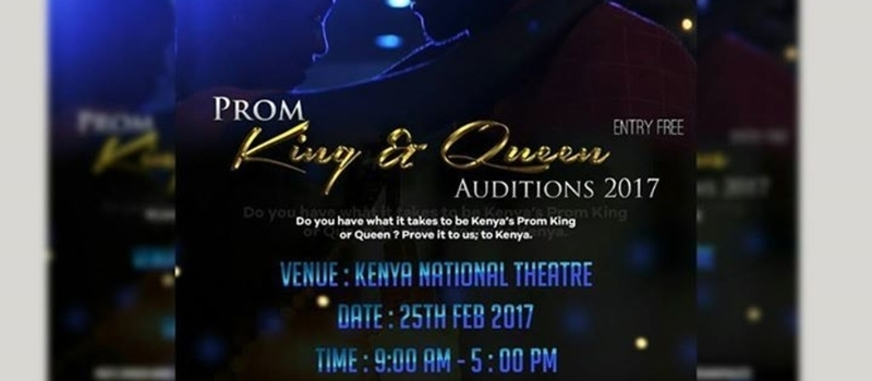 PROM KING & QUEEN AUDITIONS 2017