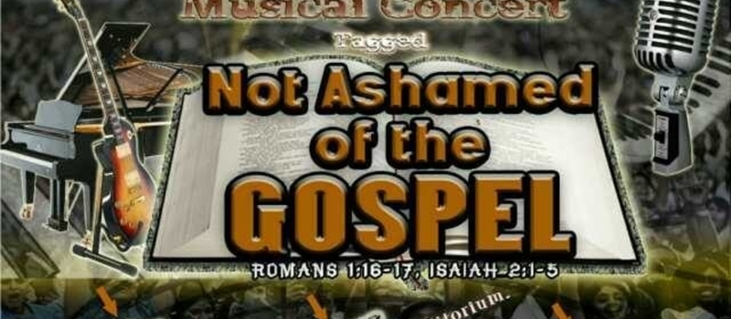 Not Ashamed of the Gospel by Chapel of Grace FUT Minna Choir