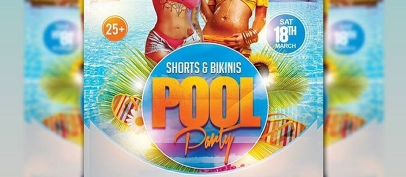 Shorts And Bikinis Pool Party