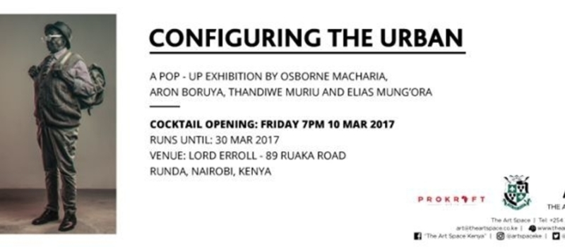 Pop - Up Exhibition (Lord Erroll) : Configuring The Urban