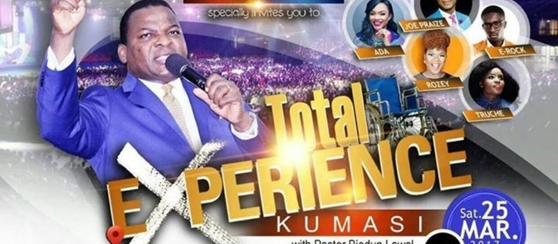 Christ Embassy specially invites you to TOTAL Experience Kumasi