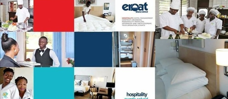 Eroat Ghana Internships, Meets With Hospitality & Tourism Dept. University