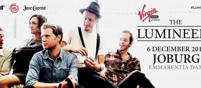 The Lumineers Live in Joburg, Presented by Virgin Mobile, Powered by 5FM