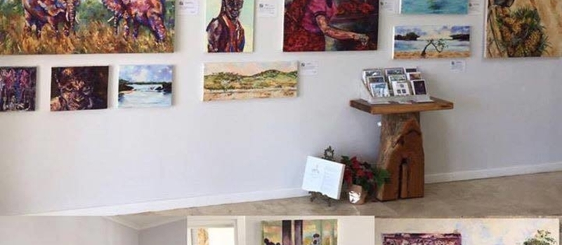 Open Studio and Sundowners new exhibition Tanzania Adventures