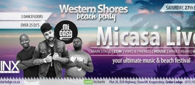 Western Shores Beach Party feat Micasa Live