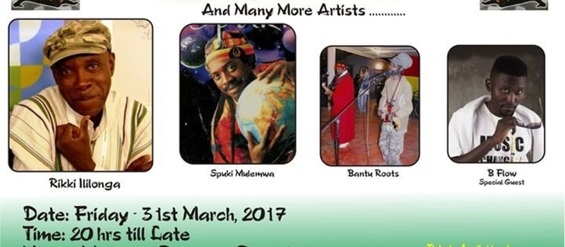 Reggae Night Splash ft Zambian Legends of Reggae