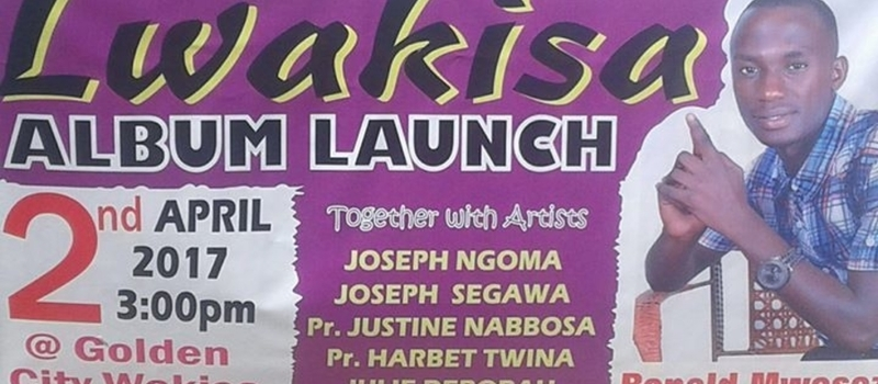 Ronald Mwesezi's Album launch #Lwakiisa