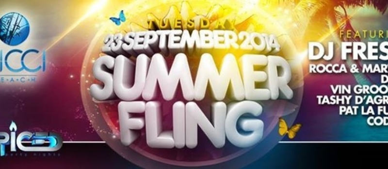 ♥ Summer Fling ♥ | Nicci Beach | (Next Day Is a Public Holiday)