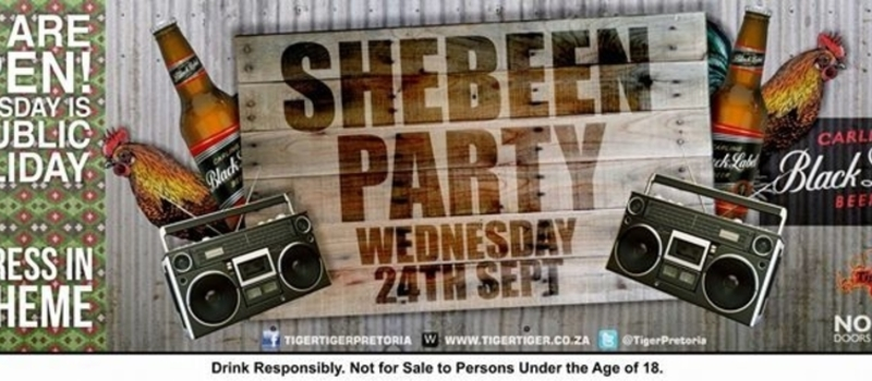 SHEBEEN PARTY