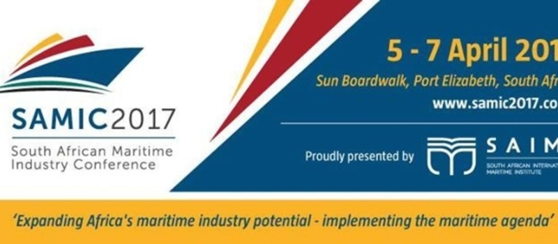 SAMIC 2017 (South African International Maritime Conference)
