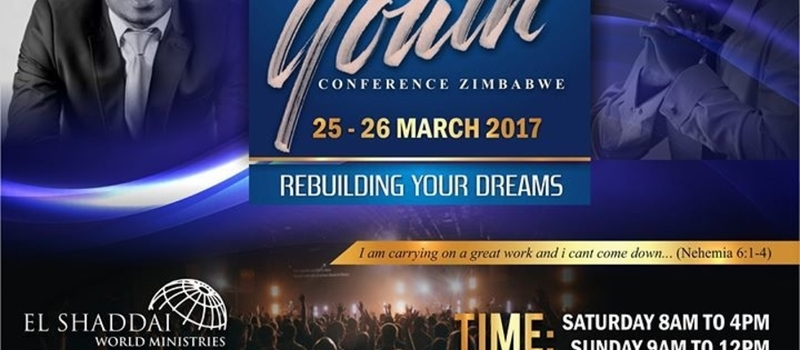 El Shaddai World Ministries Zimbabwe Youth Conference Domboshava