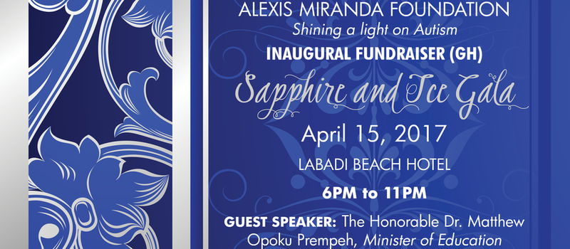 Alexis Miranda Foundation's Inuagural Fundraiser, Sapphire and Ice Gala