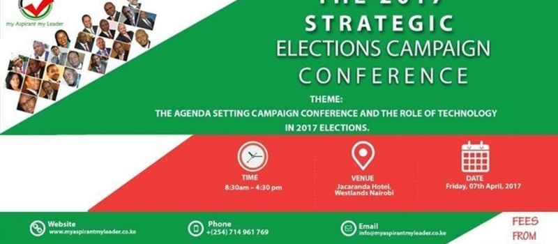 The 2017 Strategic Elections Campaign Conference