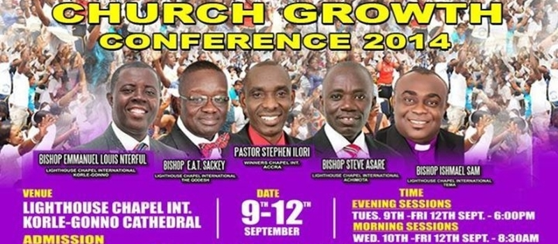 CHURCH GROWTH CONFERENCE 2014