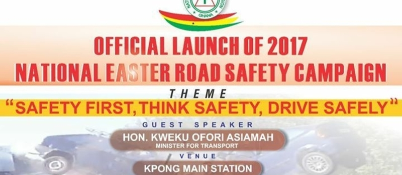 Launch of Easter Road Safety Campaign