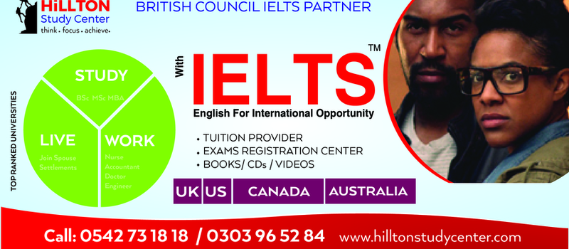 IELTS training and exams registration