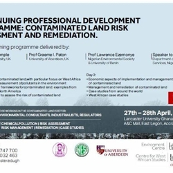 CPD Programme: Contaminated Land Risk Assessment and Remediation