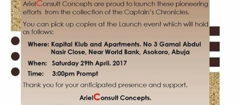 Captain's Chronicles Book Launch