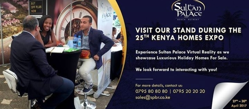 Sultan Palace Exhibition at Kenya Homes Expo
