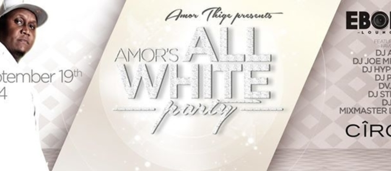 AMOR's ALL WHITE PARTY