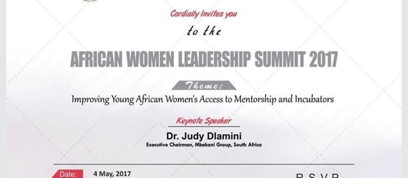 Young African Women Leadership Summit 2017- Durban, South Africa