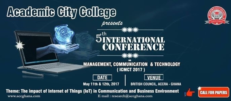 5th International Research Conference on May 11-12, 2017