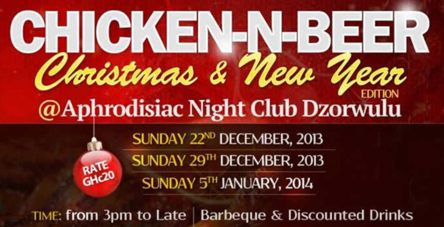 Chicken-N-Beer (Christmas & New Year Edition)