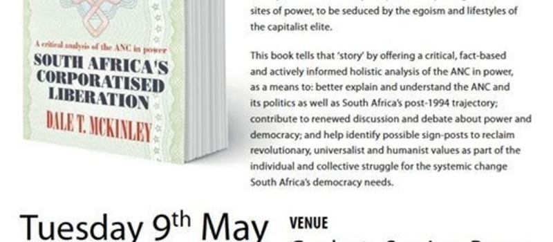 Launch of South Africa's Corporatised Liberation