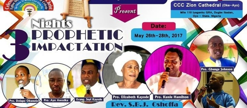 3 NIGHT OF PROPHETIC TRANSFORMATION