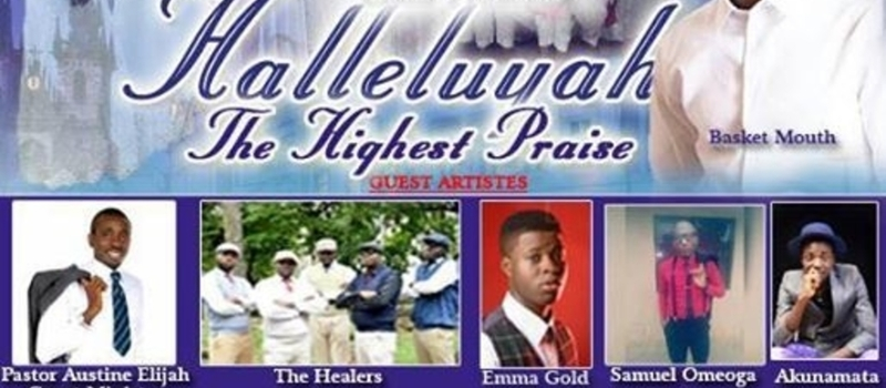Hallelujah, the highest praise.....