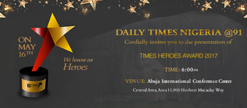Daily Times Nigeria - Times Heroes Awards