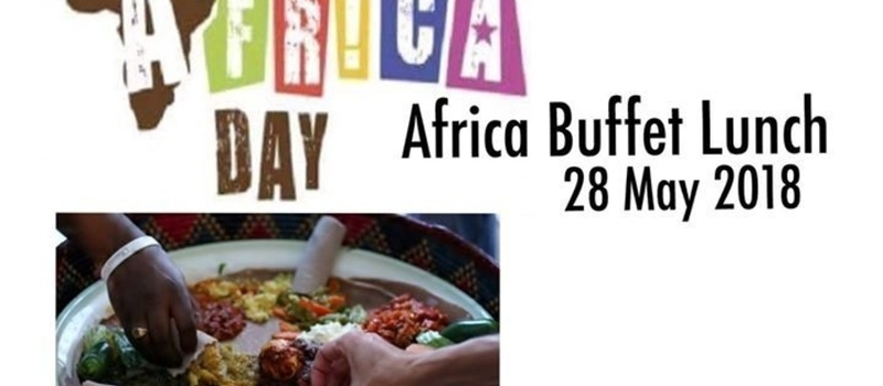 Africa Buffet Lunch celebration of dishes from North to South