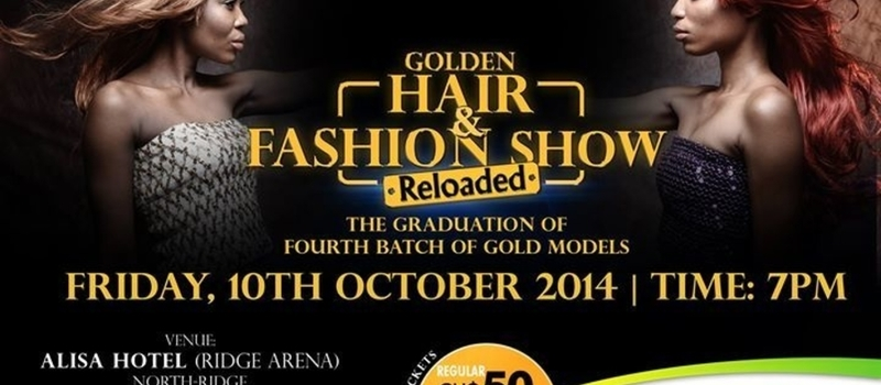 GOLDEN HAIR & FASHION SHOW RELOADED