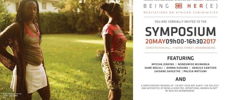 Being HER(e): Symposium with WITS School of Arts