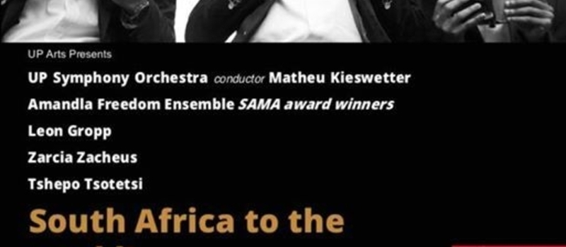 South Africa to the World - UPSO, Leon Gropp and others