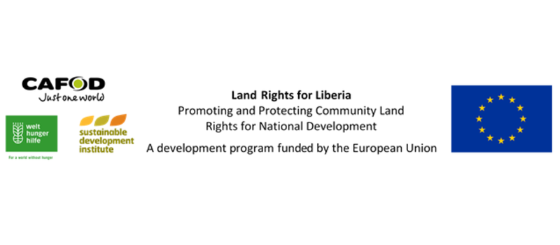 EU funded Land Rights for Liberia Project launch in Sinoe County