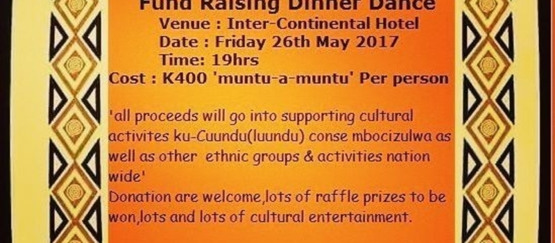 CUUNDU CULTURAL FUND 'FUND RAISING DINNER DANCE'