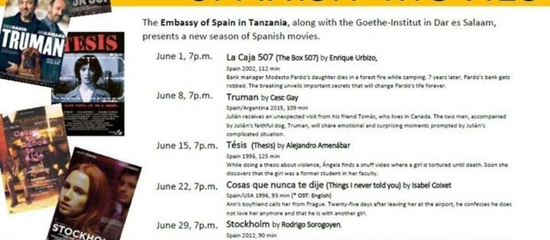 Season of Spanish movies at the Goethe Institut