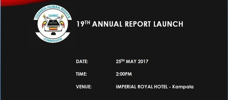 UHRC 19th Annual Report Launch 2017