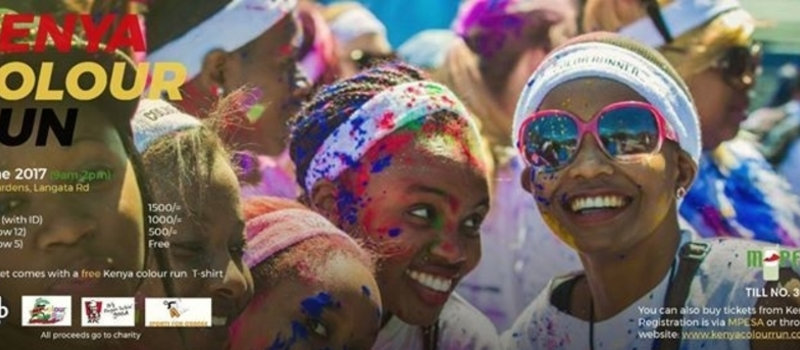 Kenya Colour Run- Nairobi Edition