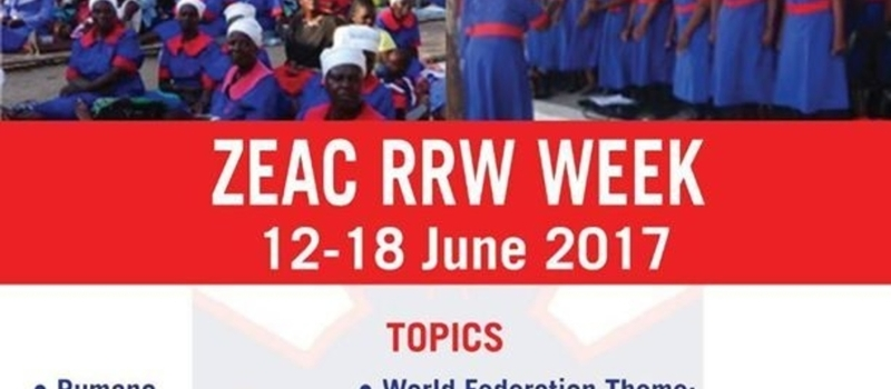 RRW Week - Zimbabwe East Annual Conference