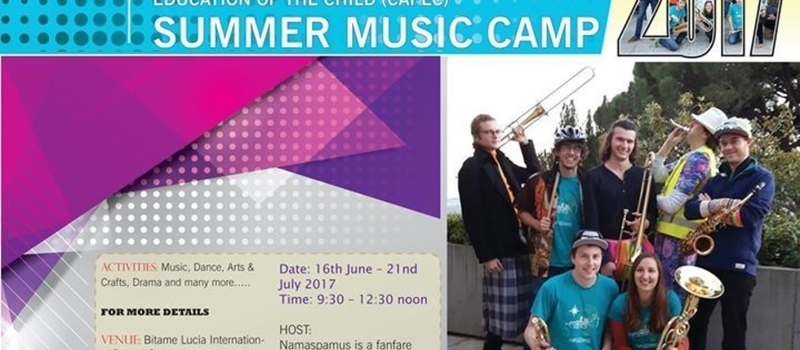 Summer Music Camp 2017