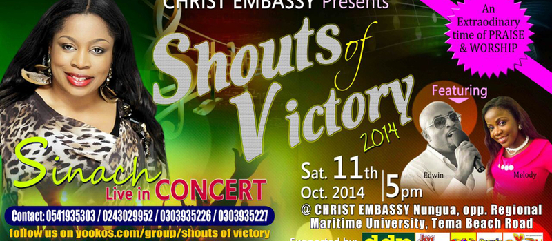 SINACH LIVE IN GHANA CONCERT