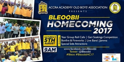 Bleoobii Homecoming 2017